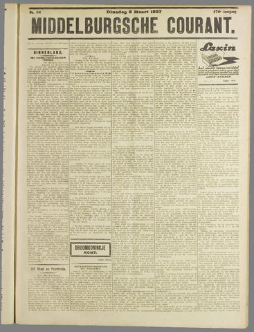 Middelburgsche Courant 1927-03-08