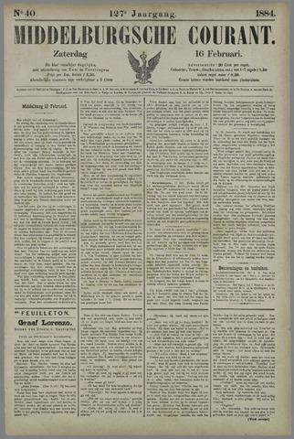 Middelburgsche Courant 1884-02-16