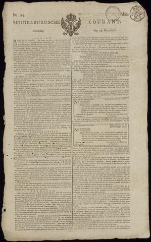 Middelburgsche Courant 1814-12-24