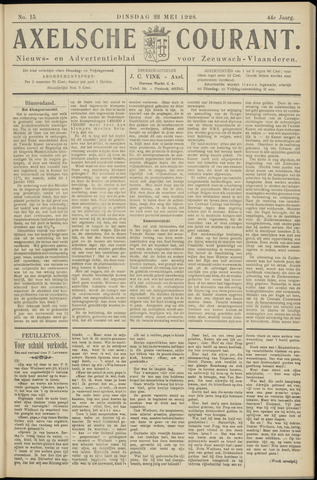 Axelsche Courant 1928-05-22