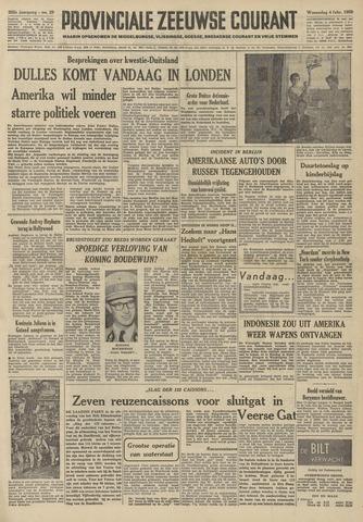 Provinciale Zeeuwse Courant 1959-02-04