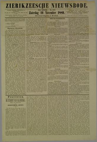 Zierikzeesche Nieuwsbode 1889-11-16