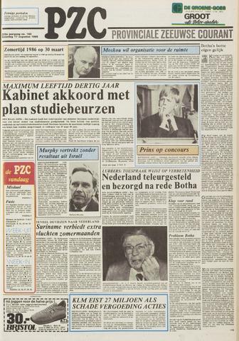 Provinciale Zeeuwse Courant 1985-08-17