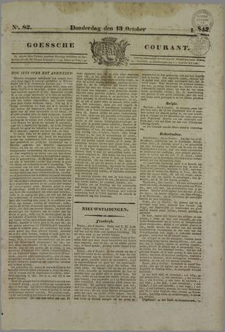 Goessche Courant 1842-10-13