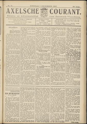 Axelsche Courant 1937-12-07