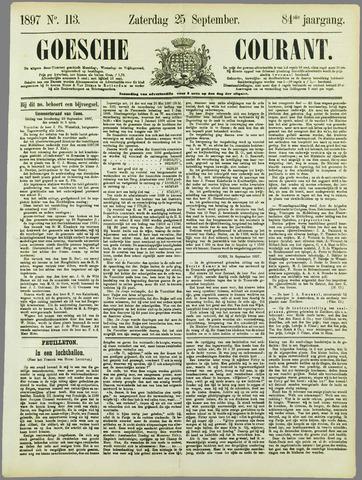 Goessche Courant 1897-09-25