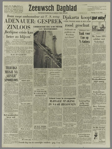 Zeeuwsch Dagblad 1962-05-08