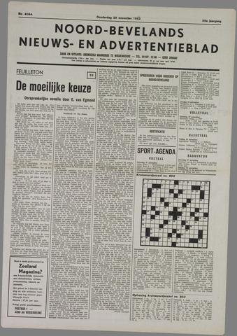 Noord-Bevelands Nieuws- en advertentieblad 1982-11-25