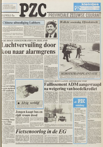 Provinciale Zeeuwse Courant 1985-01-18