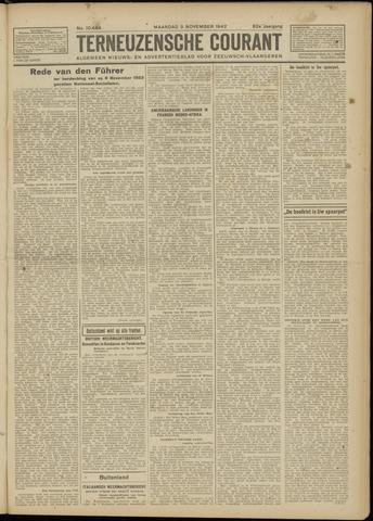 Ter Neuzensche Courant. Algemeen Nieuws- en Advertentieblad voor Zeeuwsch-Vlaanderen / Neuzensche Courant ... (idem) / (Algemeen) nieuws en advertentieblad voor Zeeuwsch-Vlaanderen 1942-11-09
