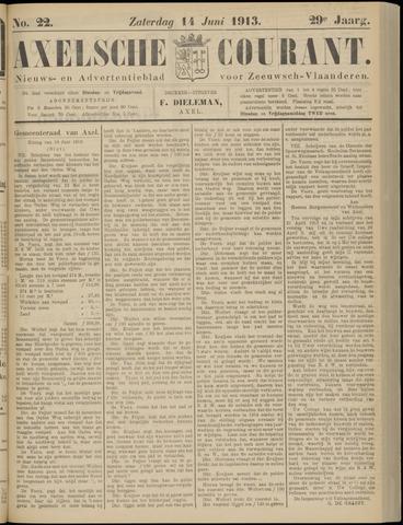 Axelsche Courant 1913-06-14