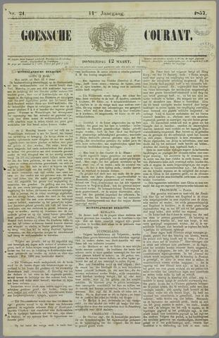 Goessche Courant 1857-03-12