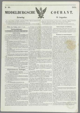 Middelburgsche Courant 1855-08-18
