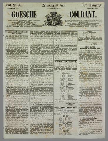 Goessche Courant 1881-07-09