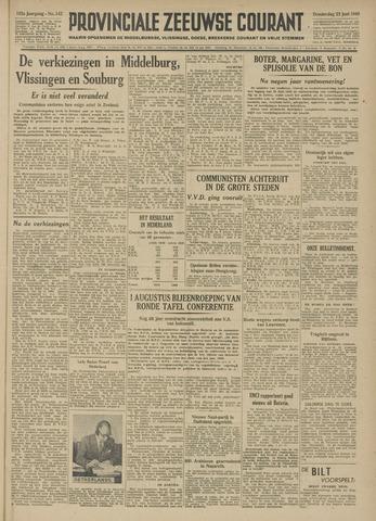Provinciale Zeeuwse Courant 1949-06-23