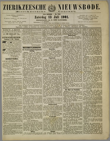 Zierikzeesche Nieuwsbode 1901-07-13