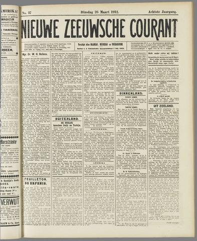 Nieuwe Zeeuwsche Courant 1912-03-26