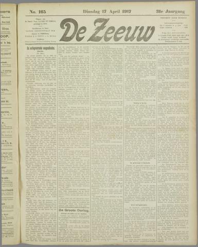 De Zeeuw. Christelijk-historisch nieuwsblad voor Zeeland 1917-04-17