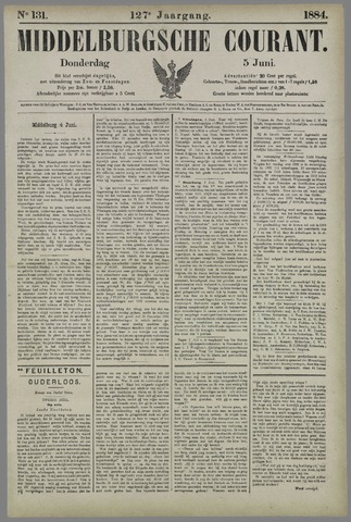 Middelburgsche Courant 1884-06-05
