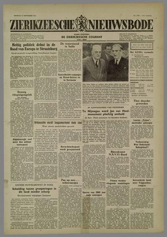 Zierikzeesche Nieuwsbode 1954-09-21