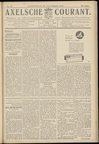 Axelsche Courant 1937-12-24