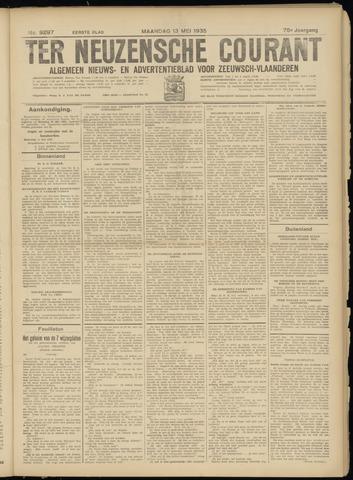 Ter Neuzensche Courant. Algemeen Nieuws- en Advertentieblad voor Zeeuwsch-Vlaanderen / Neuzensche Courant ... (idem) / (Algemeen) nieuws en advertentieblad voor Zeeuwsch-Vlaanderen 1935-05-13