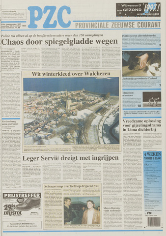 Provinciale Zeeuwse Courant 1996-12-30