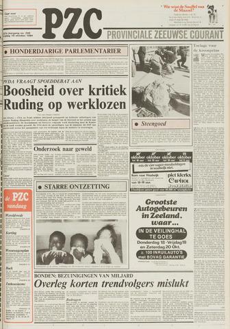 Provinciale Zeeuwse Courant 1984-10-19