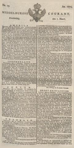 Middelburgsche Courant 1771-03-07