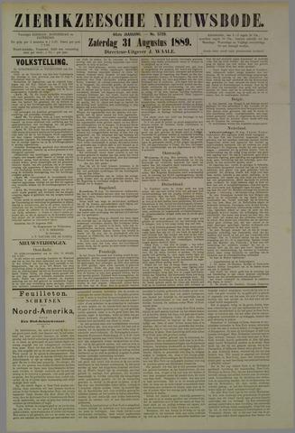 Zierikzeesche Nieuwsbode 1889-08-31