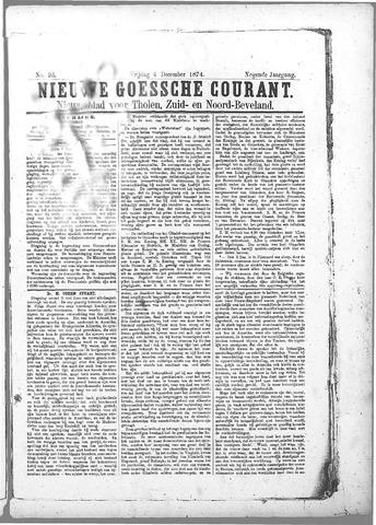 Nieuwe Goessche Courant 1874-12-04