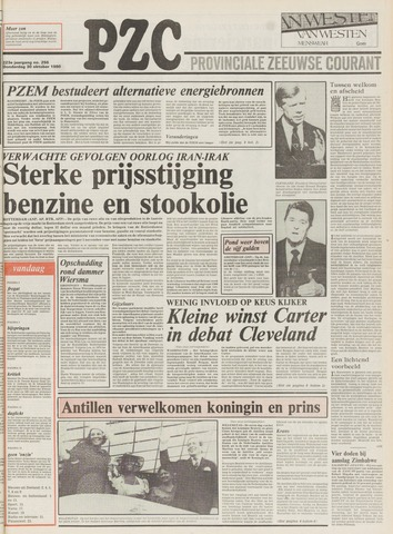 Provinciale Zeeuwse Courant 1980-10-30