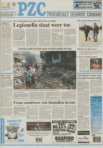 Provinciale Zeeuwse Courant 1999-11-15