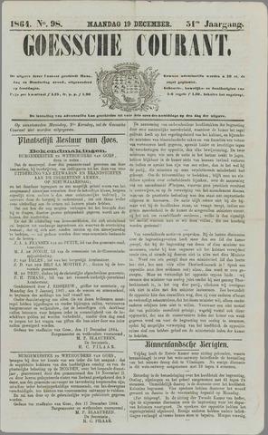 Goessche Courant 1864-12-19