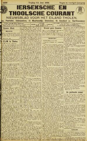 Ierseksche en Thoolsche Courant 1932-06-24