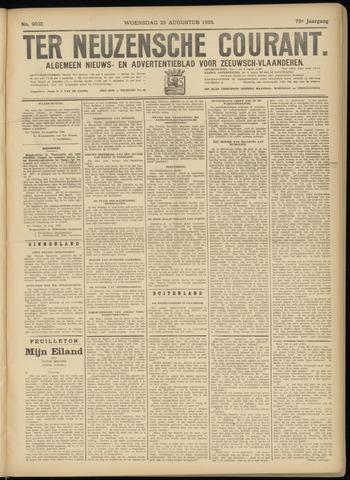 Ter Neuzensche Courant. Algemeen Nieuws- en Advertentieblad voor Zeeuwsch-Vlaanderen / Neuzensche Courant ... (idem) / (Algemeen) nieuws en advertentieblad voor Zeeuwsch-Vlaanderen 1933-08-23