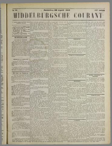 Middelburgsche Courant 1919-04-26