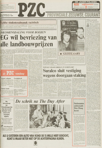 Provinciale Zeeuwse Courant 1984-01-13