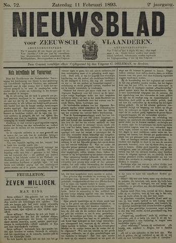 Nieuwsblad voor Zeeuwsch-Vlaanderen 1893-02-11