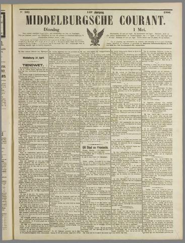 Middelburgsche Courant 1906-05-01