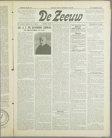 De Zeeuw. Christelijk-historisch nieuwsblad voor Zeeland 1937-05-29