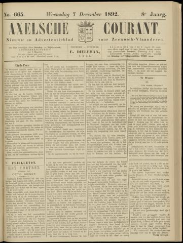 Axelsche Courant 1892-12-07