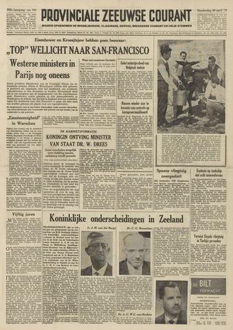 Provinciale Zeeuwse Courant 1959-04-30