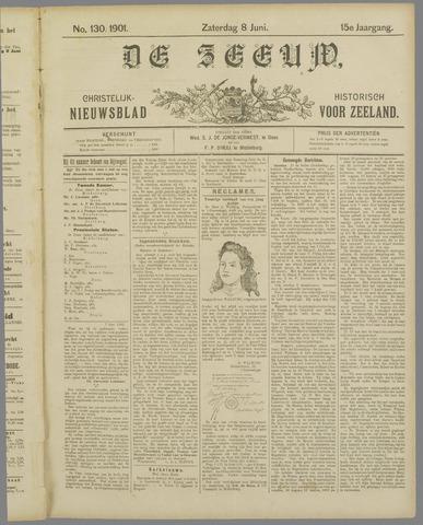 De Zeeuw. Christelijk-historisch nieuwsblad voor Zeeland 1901-06-08