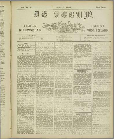 De Zeeuw. Christelijk-historisch nieuwsblad voor Zeeland 1896-02-18