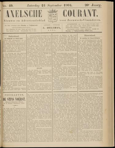 Axelsche Courant 1904-09-24