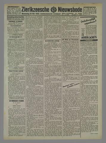 Zierikzeesche Nieuwsbode 1933-05-24