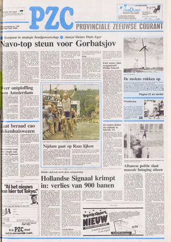 Provinciale Zeeuwse Courant 1990-07-07
