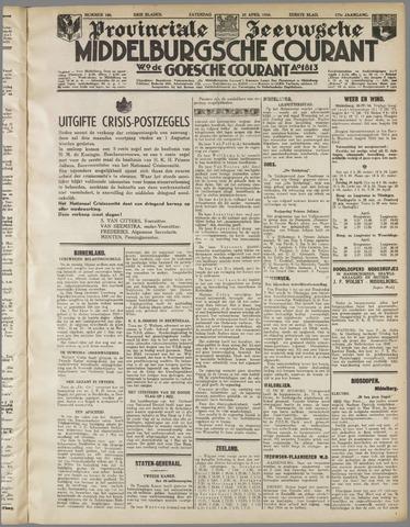 Middelburgsche Courant 1934-04-28