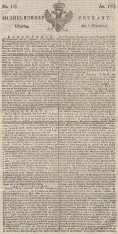 Middelburgsche Courant 1763-09-06